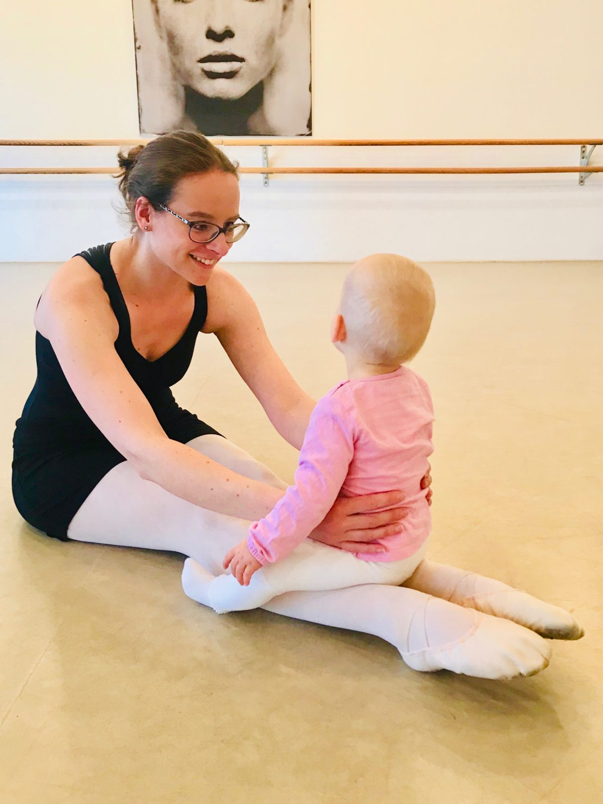 Ballett mit Baby